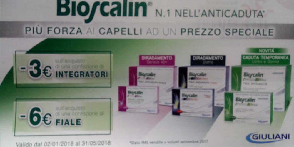 SUPER PROMO BIOSCALIN  alla Farmacia Petrarca